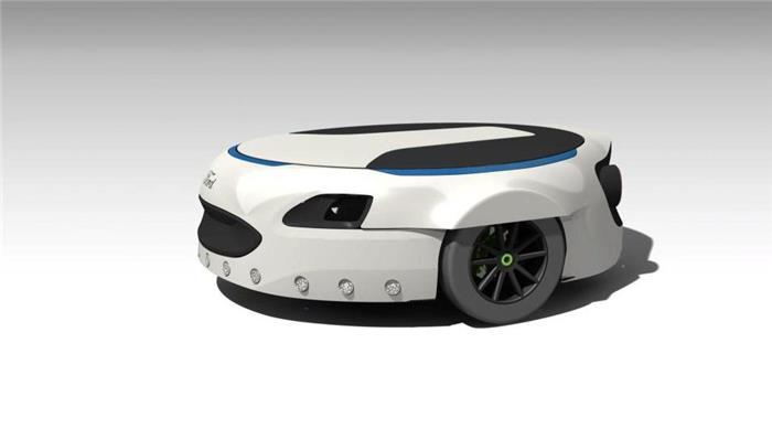 行走的会议室?福特无人驾驶新专利造型让人看呆