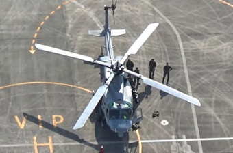 驻日美军直升机又出事了 同一机型事故不断