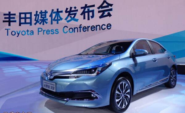 丰田将在华全球首发插电混动版卡罗拉