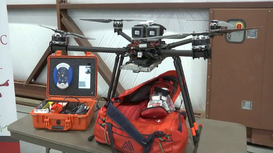 美医疗无人机有望取代救护车 面临技术和管理限制