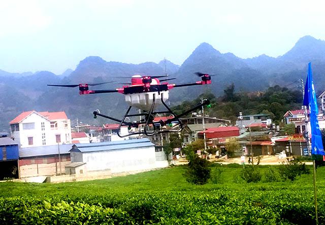 植保无人机飞防作业农药混用经验