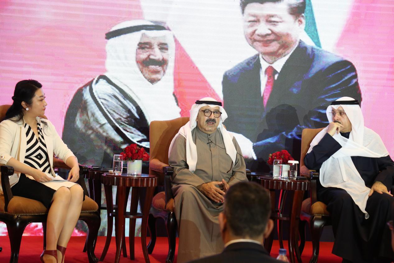 """纳赛尔亲王阁下访华 首次畅谈""""新科威特2035愿景"""""""