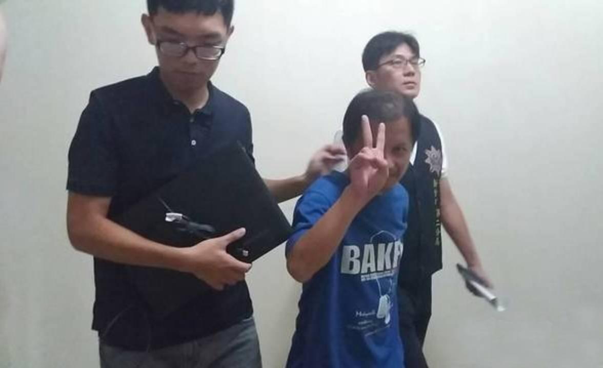 台男子对民进党当局执政不满 扬言要杀蔡英文、苏贞昌