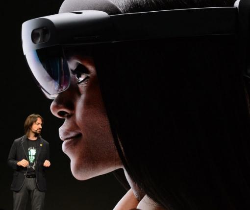 微软混合现实头戴设备HoloLens 2