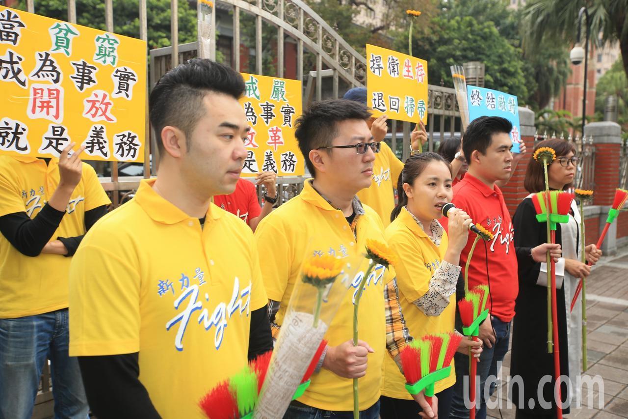 """王炳忠谈""""太阳花"""":不接受穷得只剩扫帚的未来"""