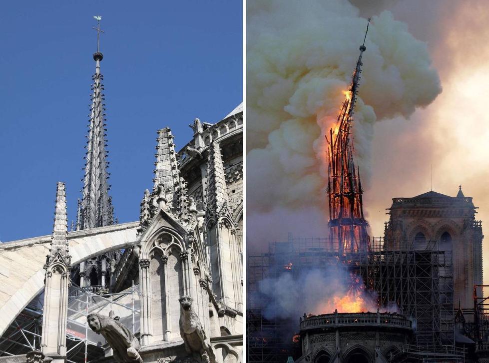 法国官方宣布:未发现巴黎圣母院人为纵火证据